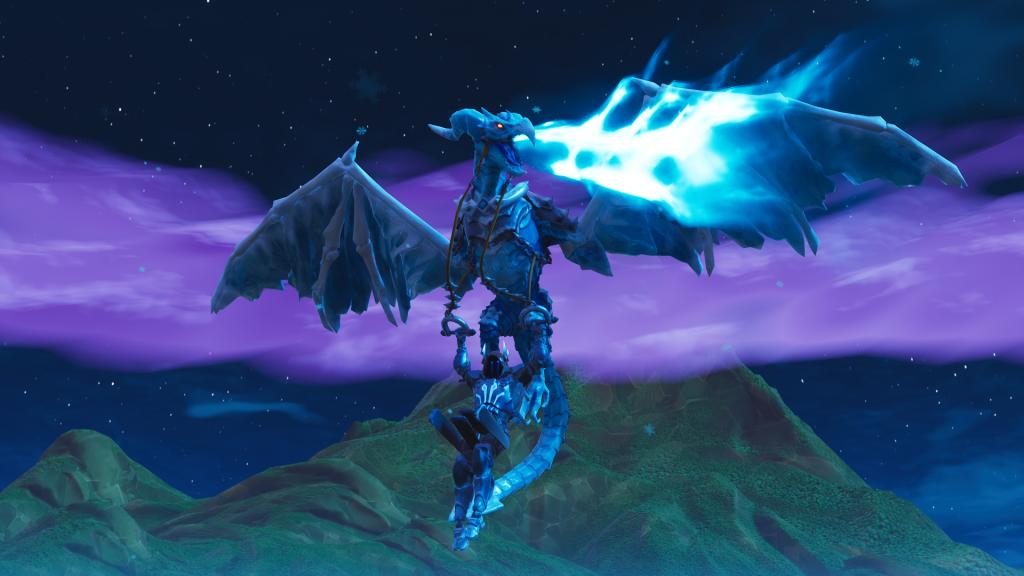 ドラゴン。 おしゃれ画像。 アイスキング。